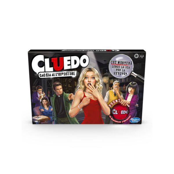 Cluedo - Caccia All'Impostore (Gioco in Scatola Hasbro Gaming, versione 2020 in Italiano).