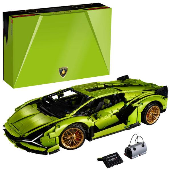 LEGO Technic Lamborghini Sián FKP 37 - 42115    LEGO TECHNIC, TECHNIC