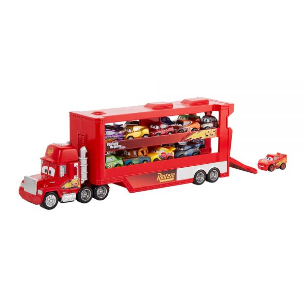 Disney Pixar Cars  Disney Cars- Minis Trasportatore con Veicolo