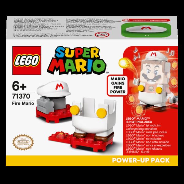 Super Mario  LEGO Super Mario Mario fuoco - Power Up Pack - 71370