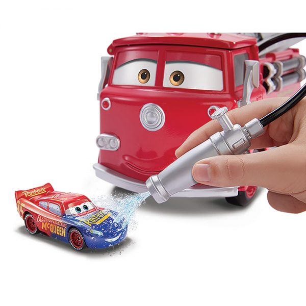 Disney Cars- Red Sfida Cambia Colore con Veicolo Saetta McQueen   Disney Pixar Cars