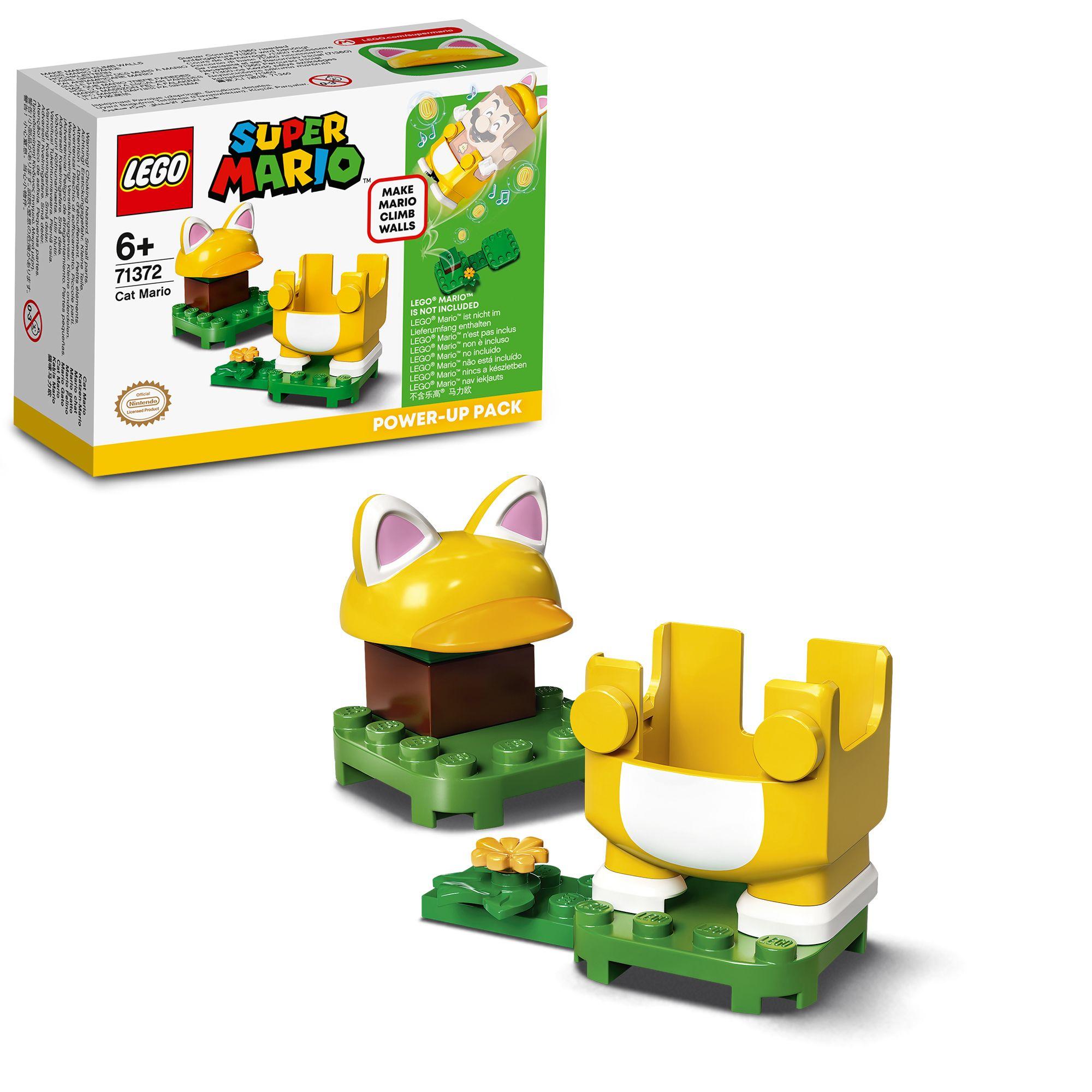 Lego super mario mario gatto - power up pack - 71372 - Super Mario