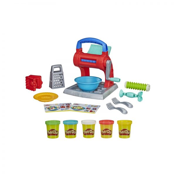 Play-Doh - Set per la Pasta (Playset Kitchen Creations con 5 vasetti di pasta da modellare Play-Doh)