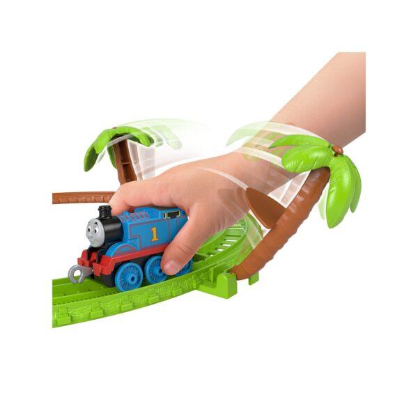 Il Trenino Thomas- Playset Avventura nella Giungla, con Locomotiva Thomas e Accessori    THOMAS & FRIENDS