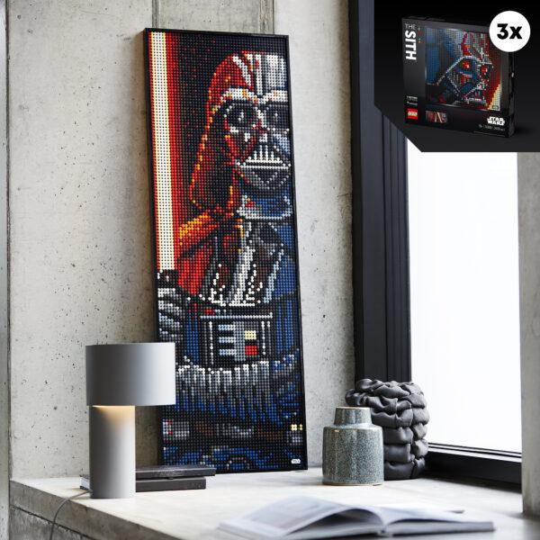 LEGO ART I Sith Star Wars -31200    ART