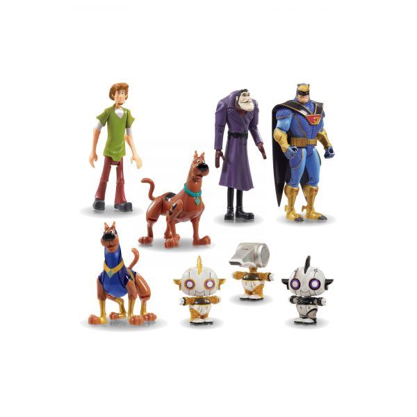 SCOOBYDOO MOVIE PERS ASS 12CM