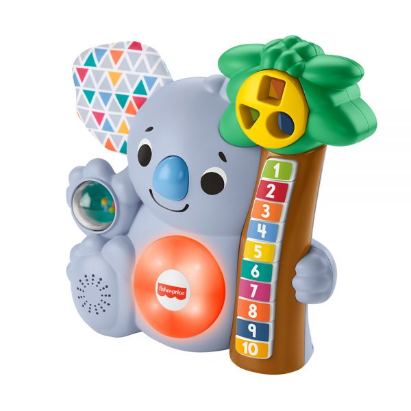 FISHER-PRICE   ​Fisher-Price,i Parlamici Baby Koala 123, Giocattolo Educativo Musicale