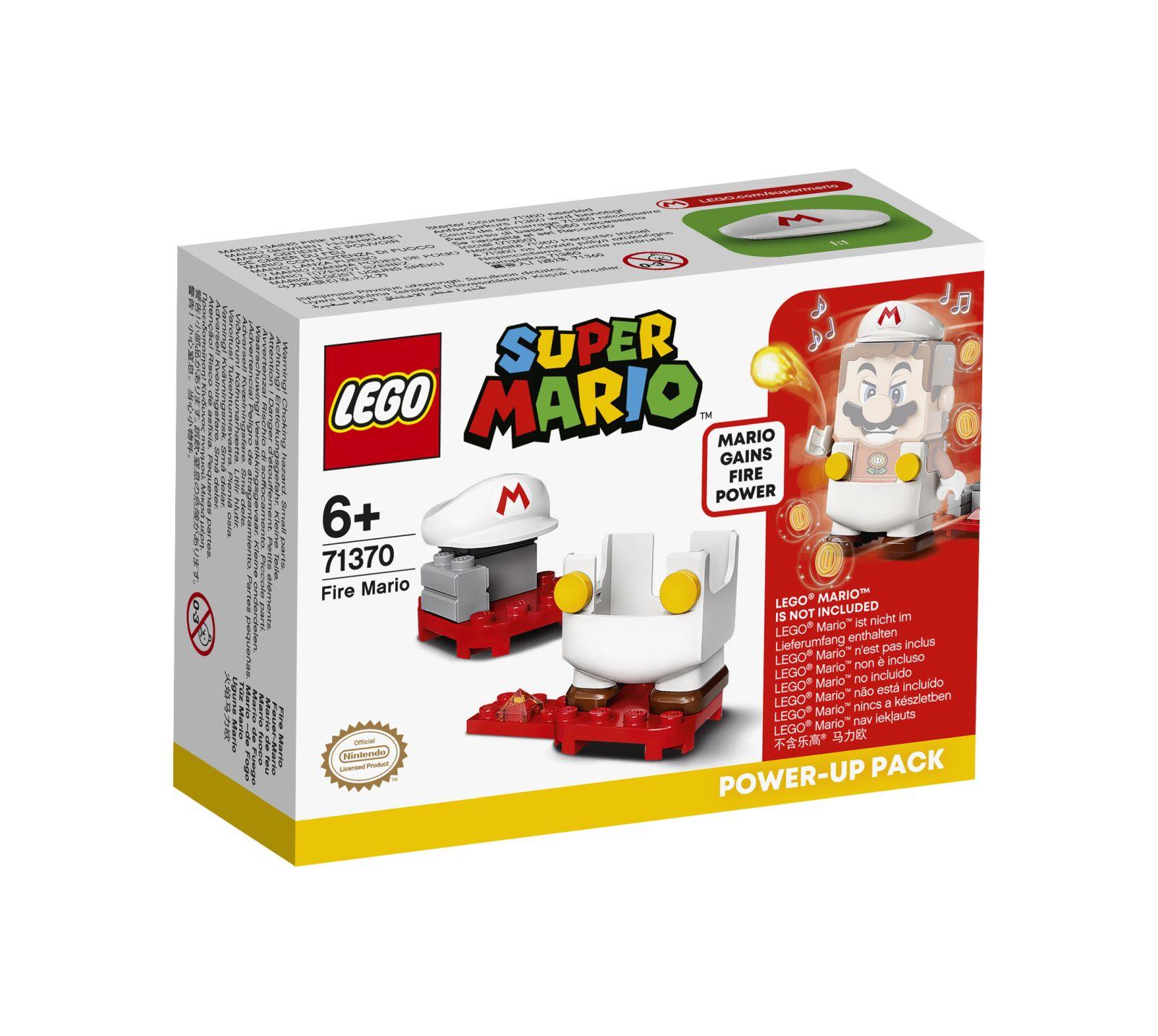 Lego super mario mario fuoco - power up pack - 71370 - Super Mario