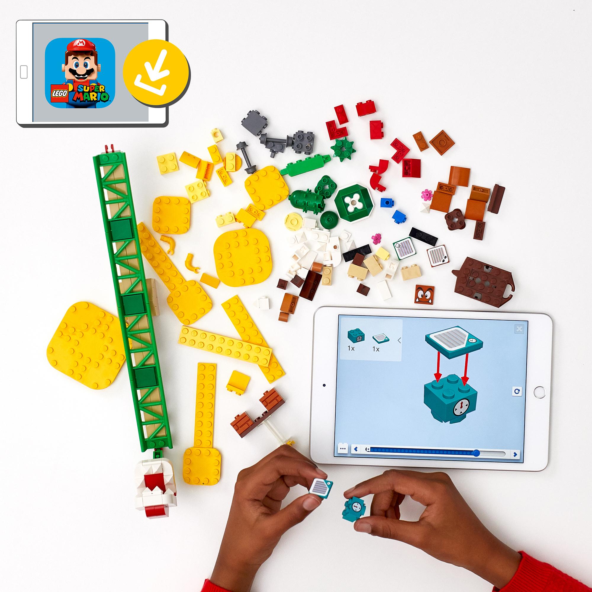 Lego super mario scivolo della pianta piranha - pack di espansione - 71365 - Super Mario