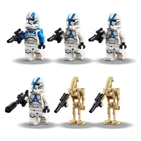Star Wars   LEGO Star Wars Clone Trooper della Legione 501 - 75280