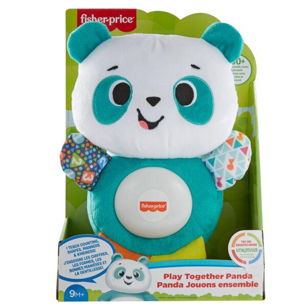 Fisher-Price, Parlamici Baby Panda Gioca con me, Gioco Educativo con Luci e Suoni    FISHER-PRICE