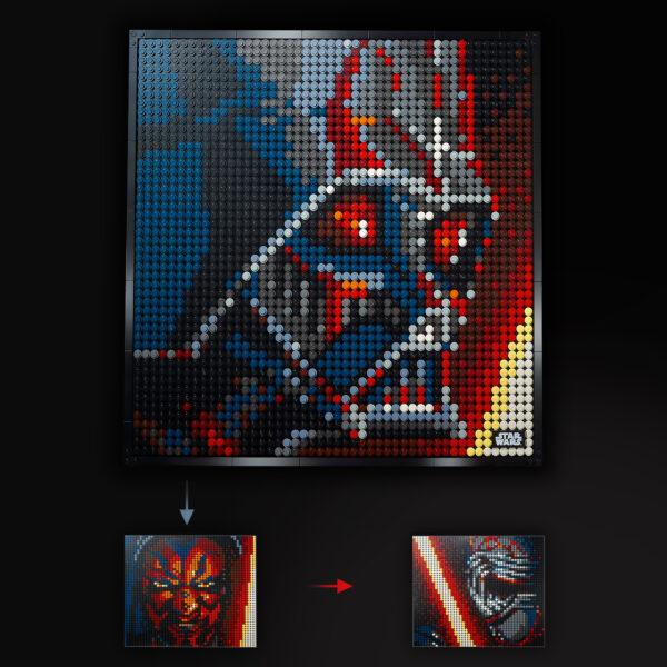 ART LEGO ART I Sith Star Wars -31200