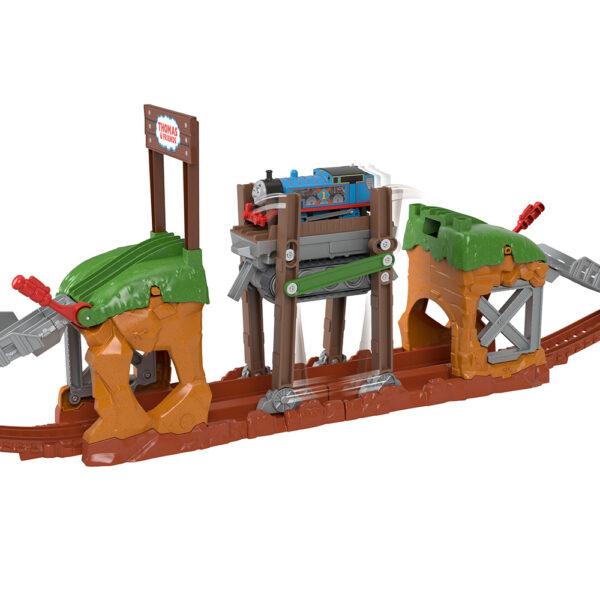 THOMAS & FRIENDS   Il Trenino Thomas-Il Ponte Mobile delle Meraviglie, Playset con Trenino Motorizzato