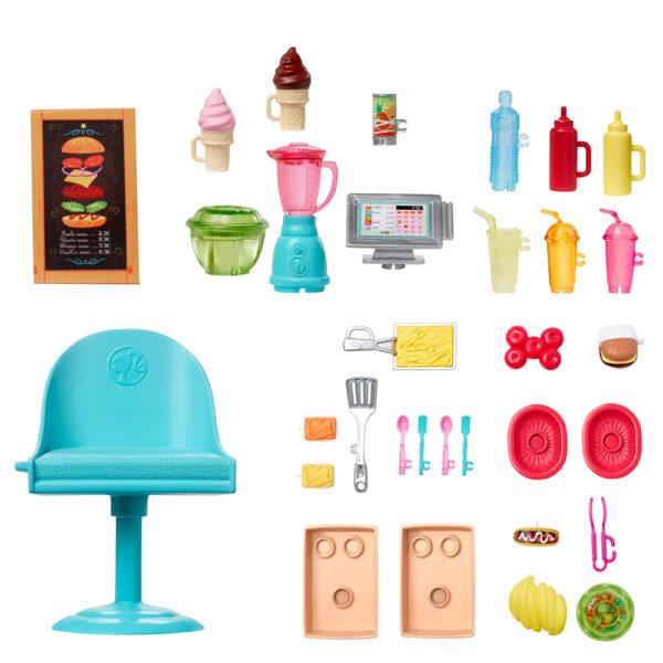 Barbie  Barbie- il Foodtruck, Veicolo e più di 30 Accessori