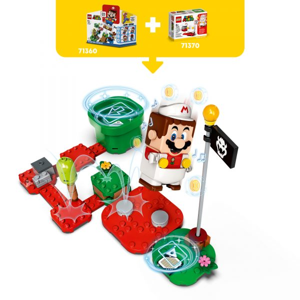 LEGO Super Mario Mario fuoco - Power Up Pack - 71370    Super Mario