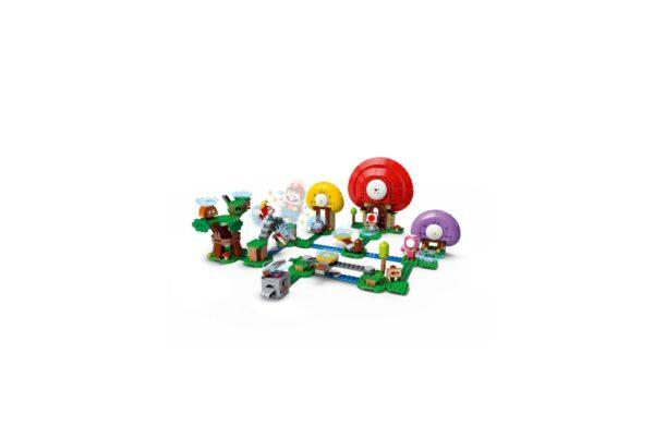 LEGO Super Mario La caccia al tesoro di Toad - Pack di Espansione - 71368 Super Mario