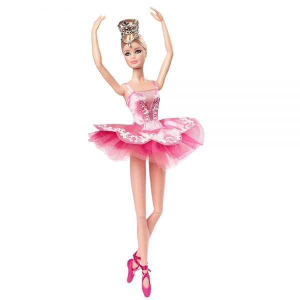 Barbie- Ballet Wishes Bambola da Collezione Dedicata alle Future Ballerine con tutù e Accessori    Barbie