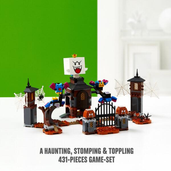 Super Mario LEGO Super Mario Re Boo e il cortile infestato - Pack di Espansione - 71377