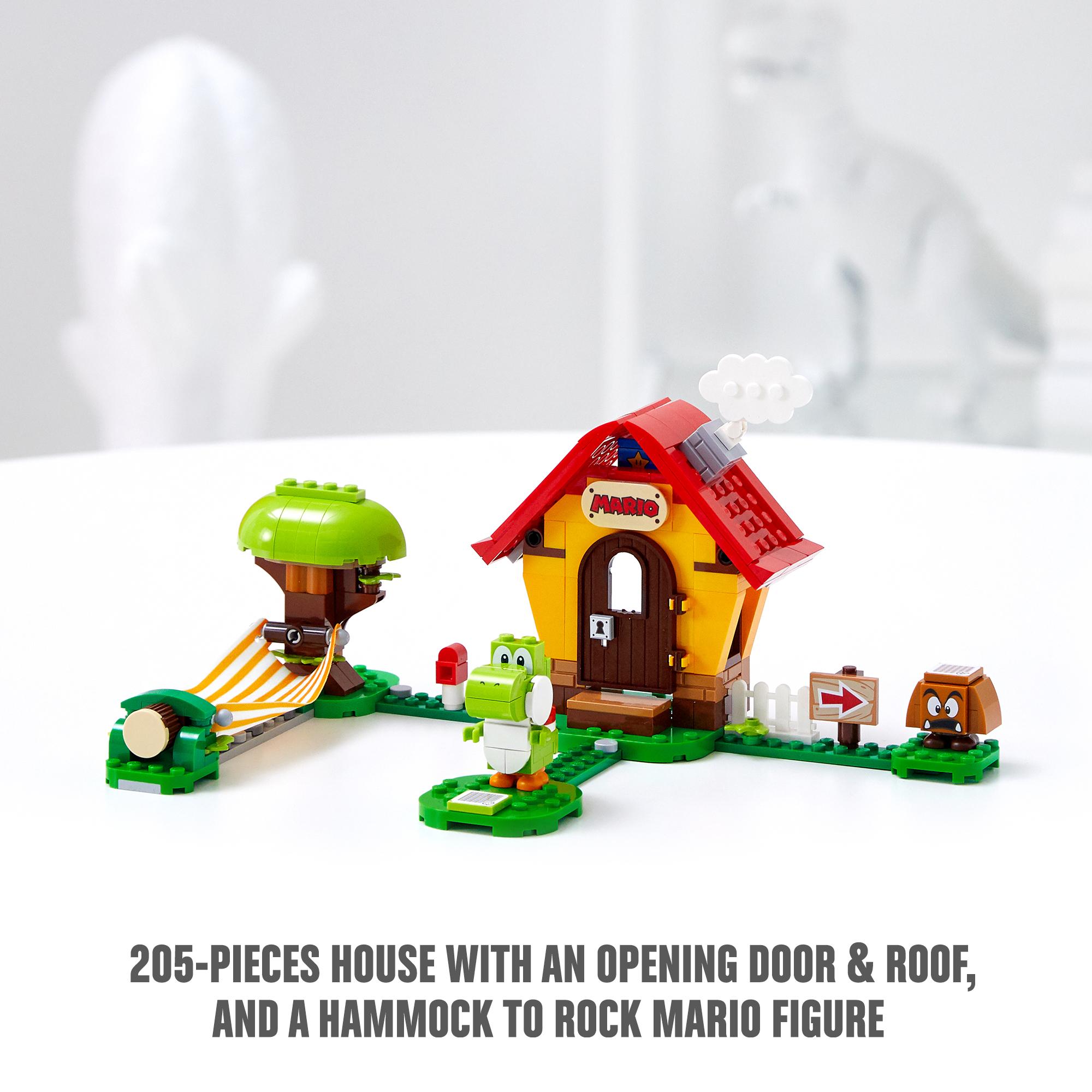 Lego super mario casa di mario e yoshi - pack di espansione - 71367 - Super Mario