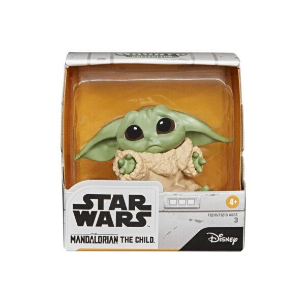 Star Wars - The Child Non Lasciarmi e La Palla (2 Action Figure da 5,5cm del personaggio conosciuto anche come Baby Yoda, ispirate alla Serie Disney+ The Mandalorian - 2 di 3 della collezione The Bounty Collection)