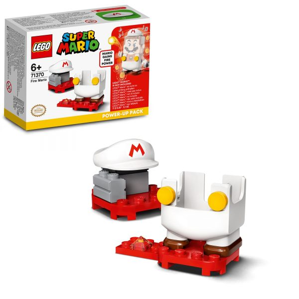 Super Mario   LEGO Super Mario Mario fuoco - Power Up Pack - 71370