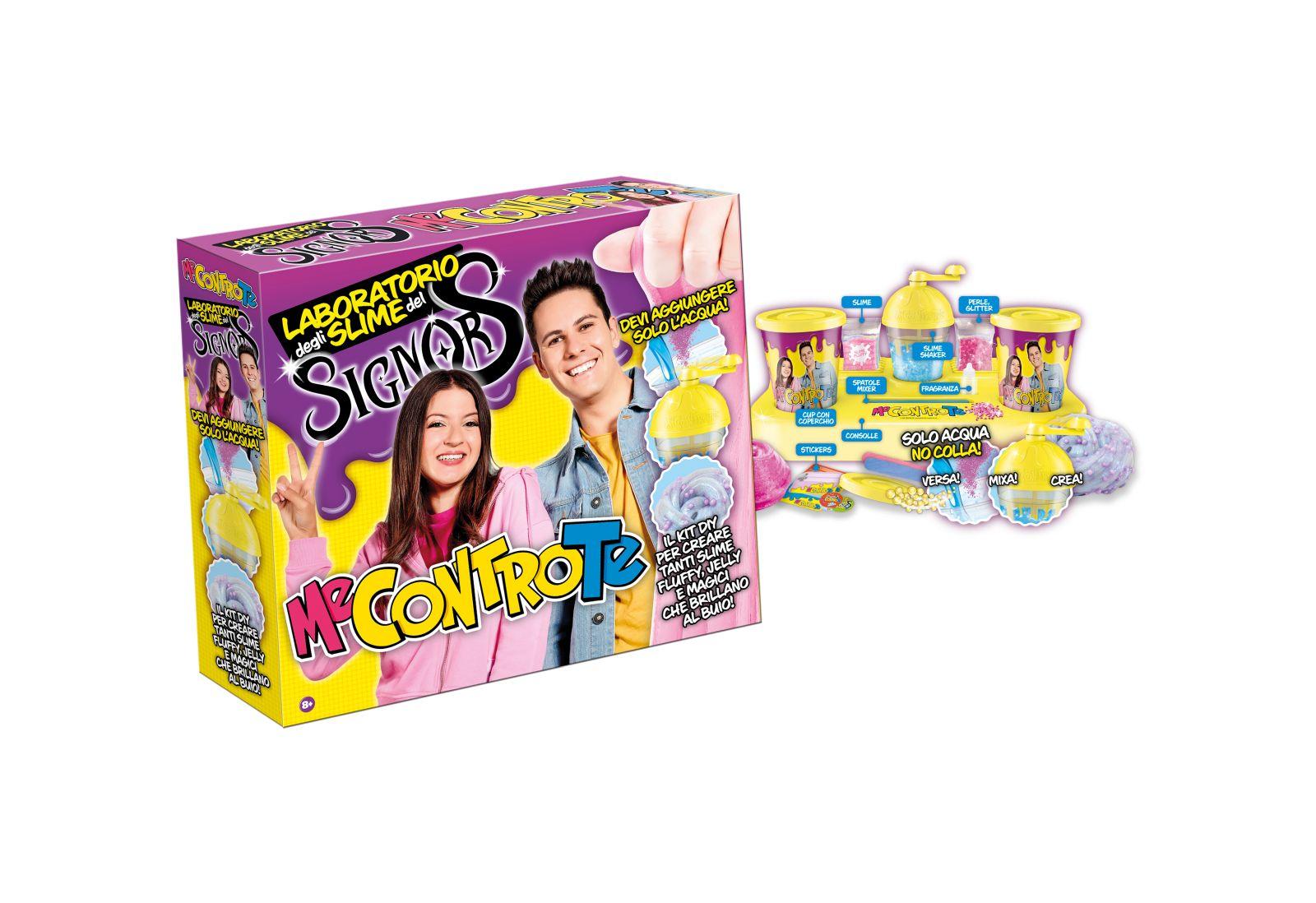 ME CONTRO TE - LABORATORIO DEGLI SLIME DEL SIGNOR S - Toys Center