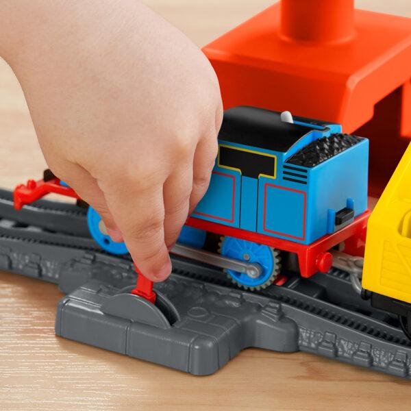 THOMAS & FRIENDS   Il Trenino Thomas- Trackmaster Playset Pista Cantiere della Gru
