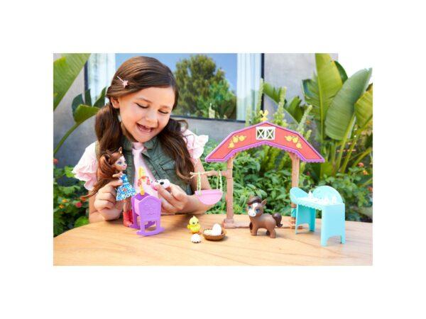 ENCHANTIMALS Playset Asilo dei Piccoli Cuccioli con Bambola    Harry Potter