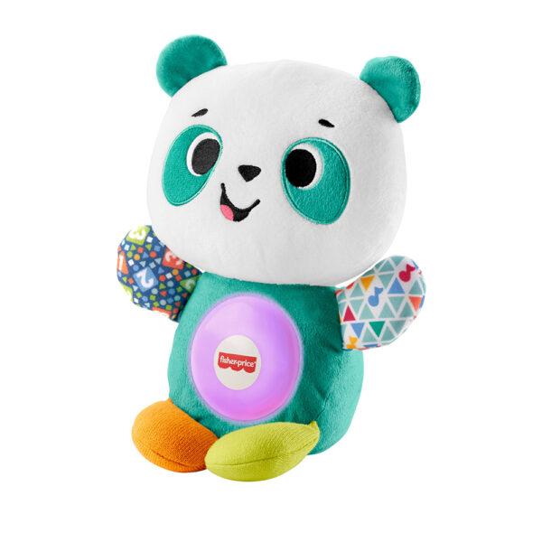 FISHER-PRICE  Fisher-Price, Parlamici Baby Panda Gioca con me, Gioco Educativo con Luci e Suoni