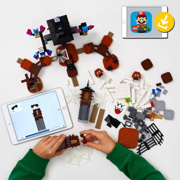 LEGO Super Mario Re Boo e il cortile infestato - Pack di Espansione - 71377 Super Mario
