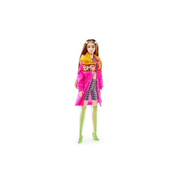 Barbie-BMR1959 Bambola Mora Snodata con Trench Barbie