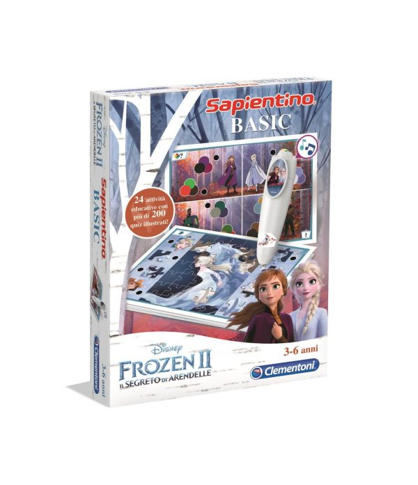Clementoni - 16237 - Sapientino Basic Frozen 2