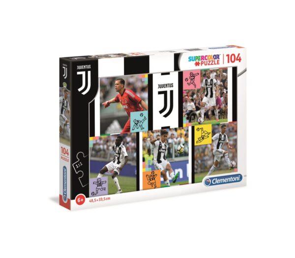 Clementoni - 27522 - Puzzle Juventus - 104 pezzi