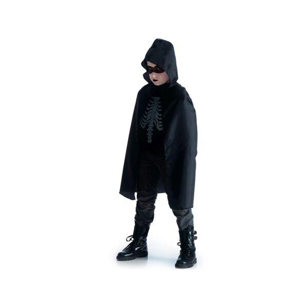 Mantello nero c/cappuccio l.cm.80 ca. ALTRI Unisex 12-36 Mesi, 12+ Anni, 3-5 Anni, 5-8 Anni, 8-12 Anni ALTRO