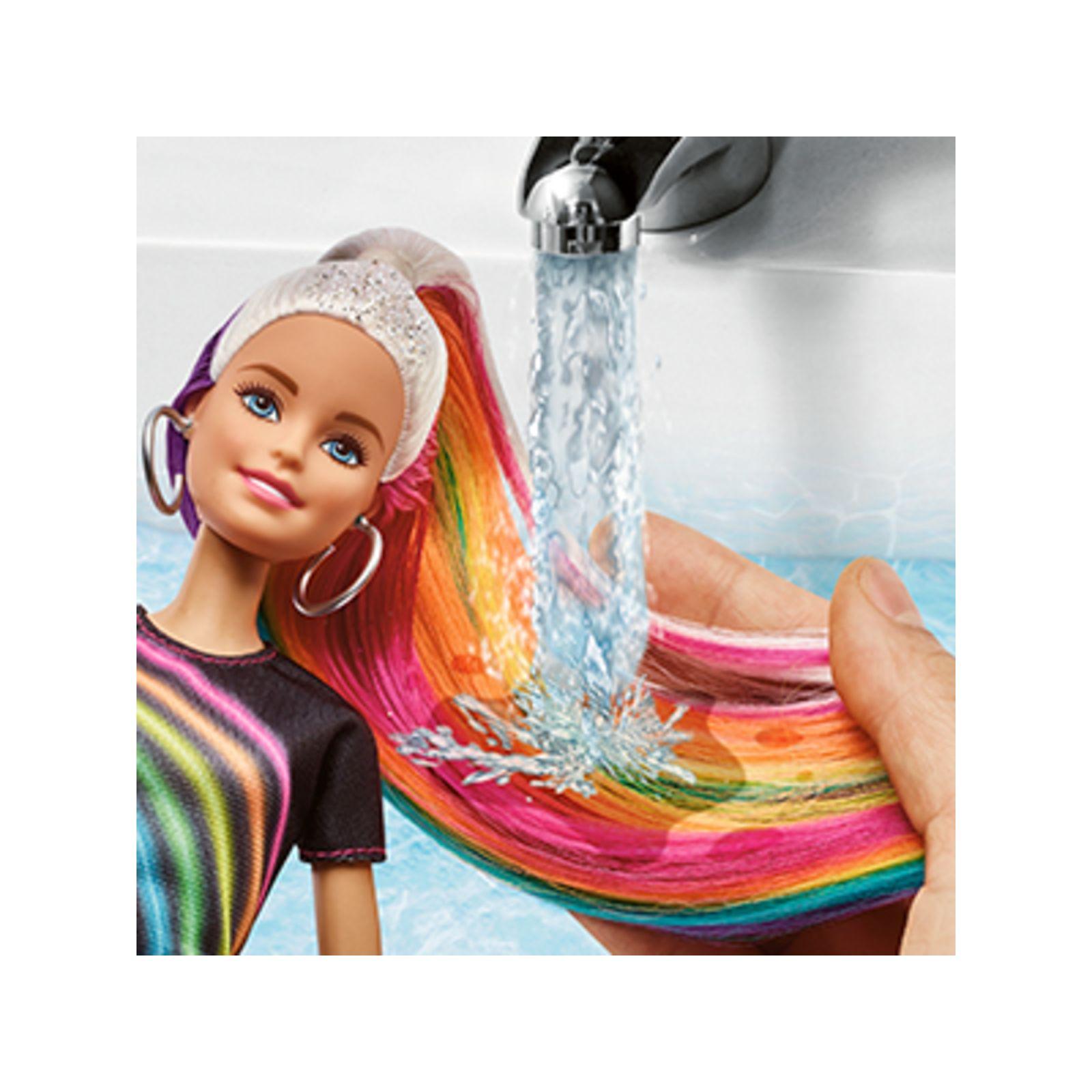 Barbie capelli arcobaleno -