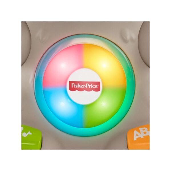 Fisher-Price- Parlamici Baby Bradipo Giocattolo Educativo con Luci, Multicolore