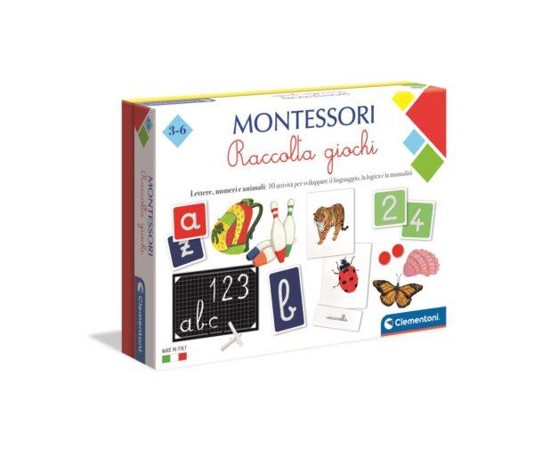 Clementoni - 16261 - Montessori - Raccolta giochi