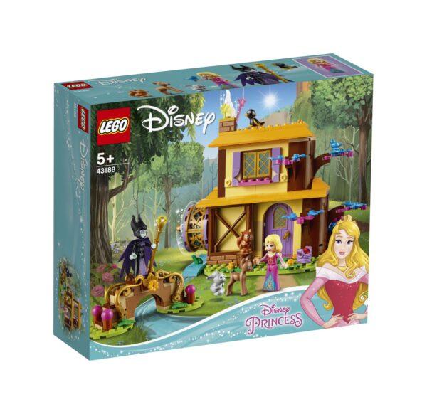 LEGO Disney Princess La casetta nel bosco di Aurora - 43188