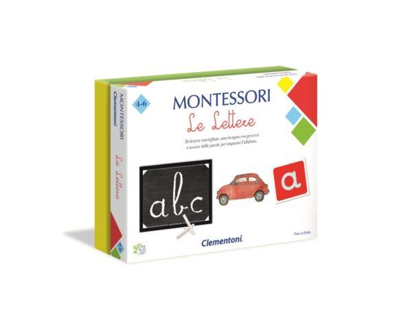 Clementoni - 16098 - Montessori - Le lettere