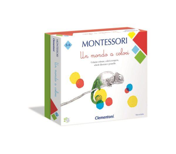 Clementoni - 16136 - Montessori - Un mondo a colori