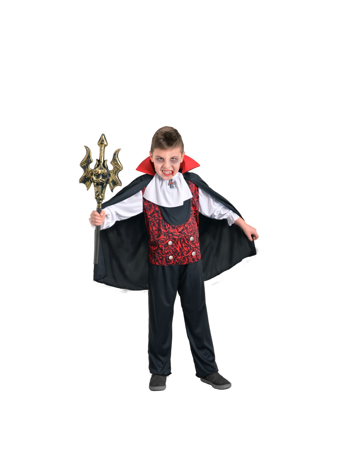 Zanne da Vampiro Putty Halloween Fancy Dress DRACULA ADULTO BAMBINO Costume Accessorio