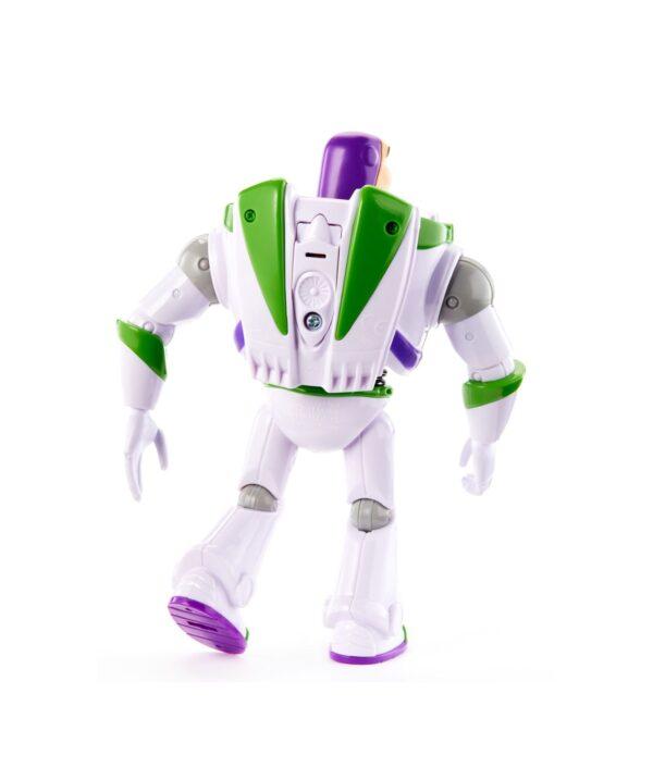 Toy Story- 4 Disney Pixar Buzz Lightyear Personaggio Parlante Articolato, da 18 cm