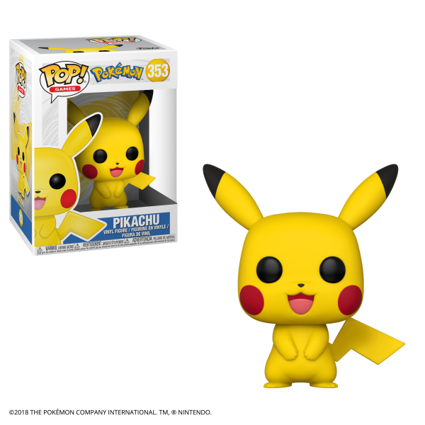 Pop Games: Pokemon S1- Pikachu