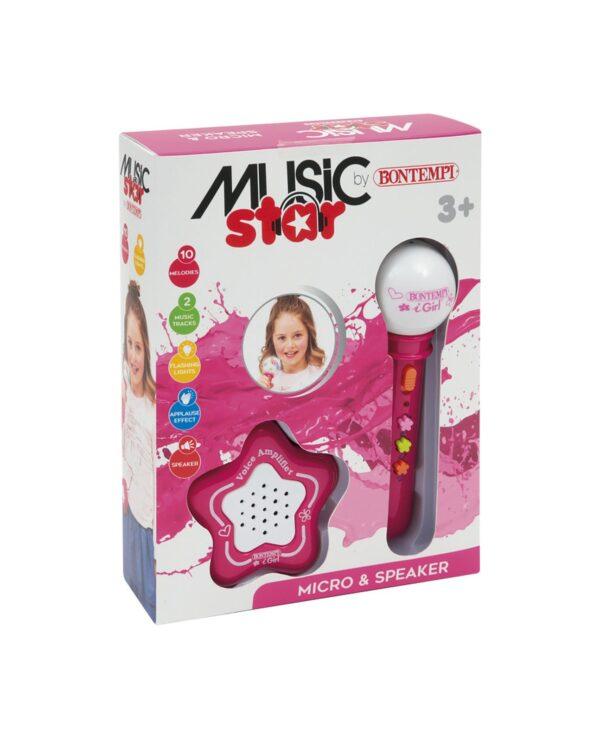 MICROPHONE & SPEAKER MUSIC STAR