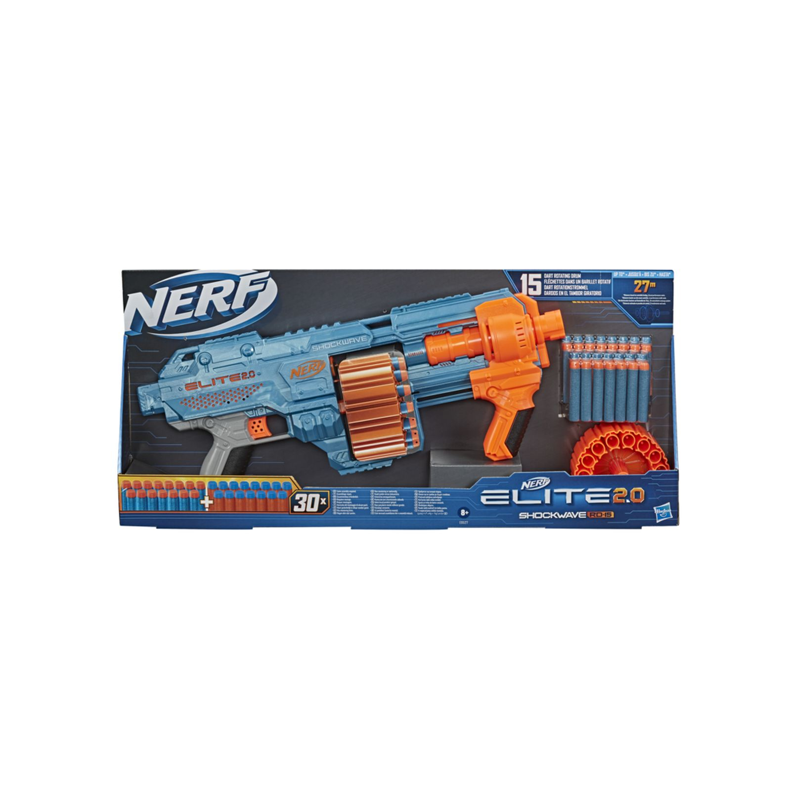 Nerf elite 2.0 shockwave rd 15 - NERF