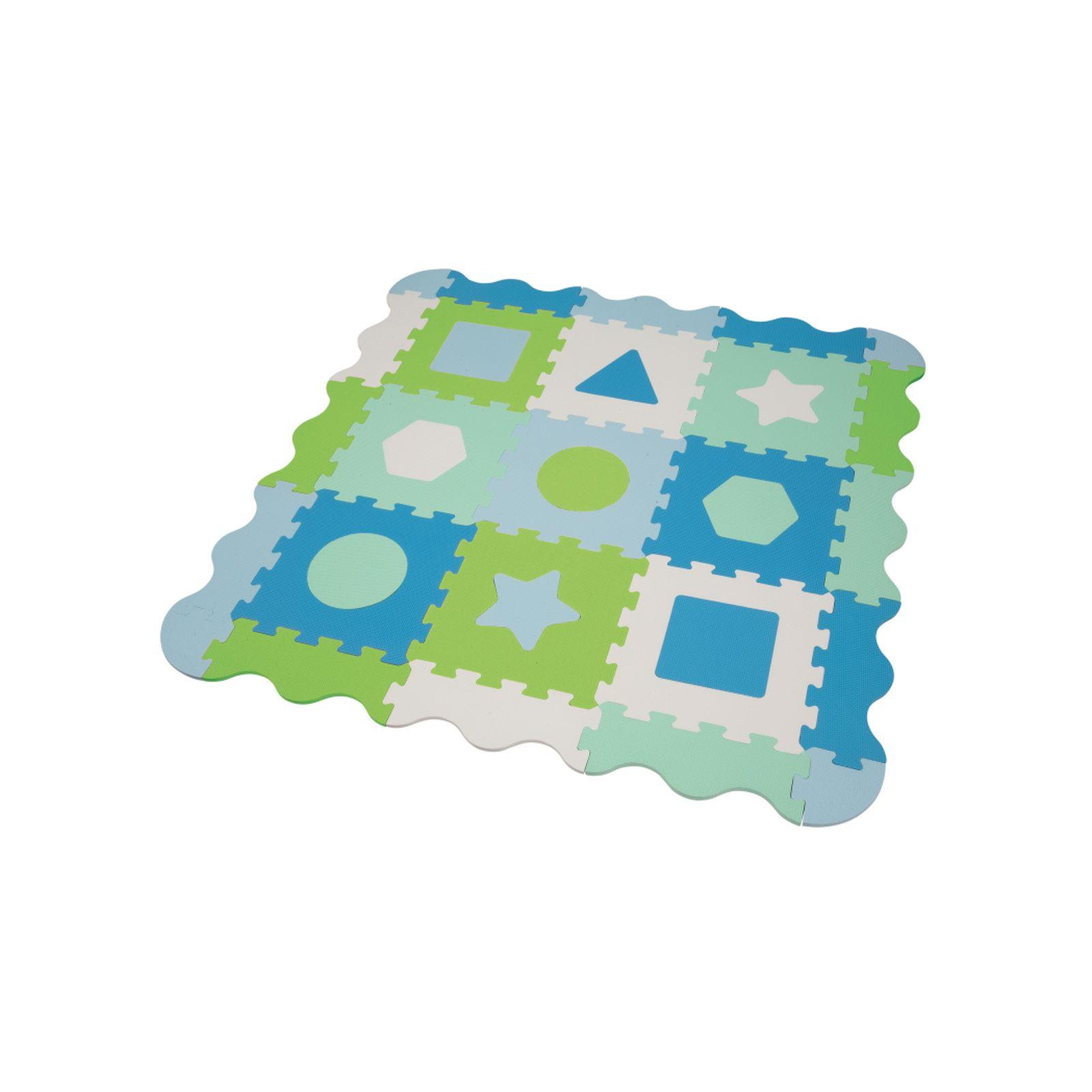 Tappeto puzzle con forme geometriche - BABY SMILE