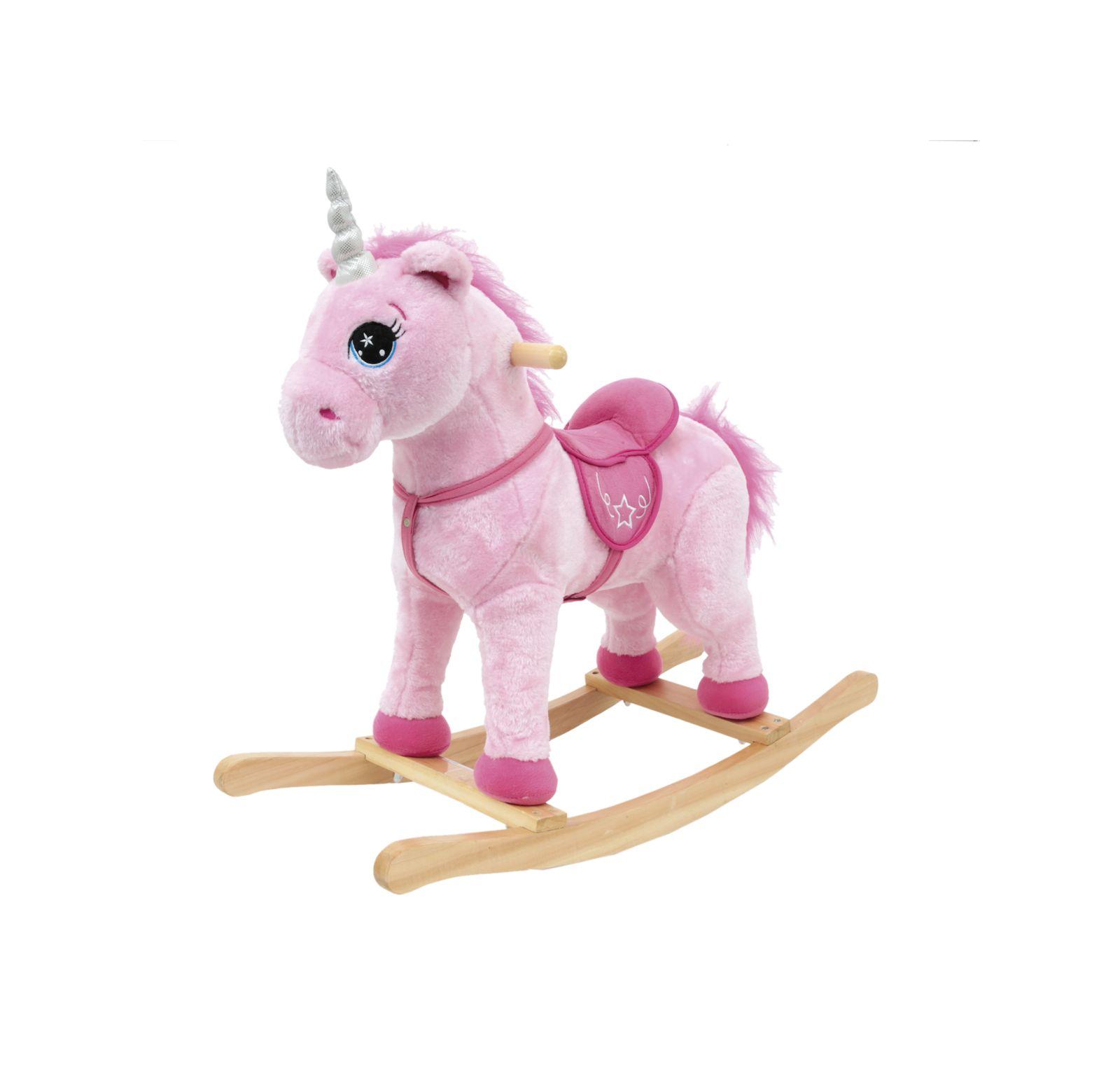 Unicorno a dondolo con suoni - AMI PLUSH