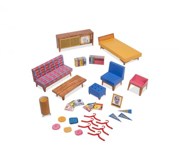 Barbie- Riproduzione Dream House con Bambola e Accessori, da Collezione