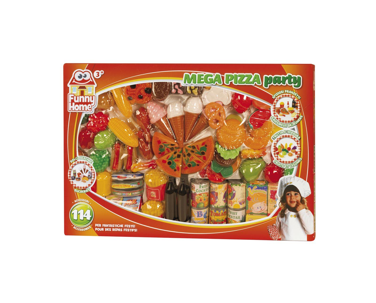 Mega pizza party - FUNNY HOME