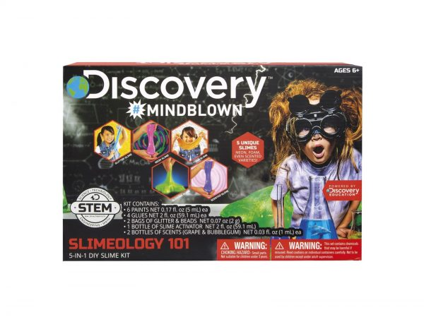 SLIME DISCOVERY KIT 5 IN 1 MICROPLANET ORIGINAL